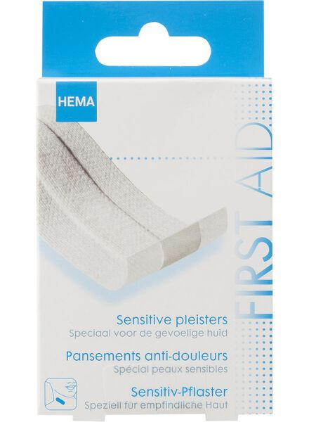 sensitive pleister - 11900033 - HEMA