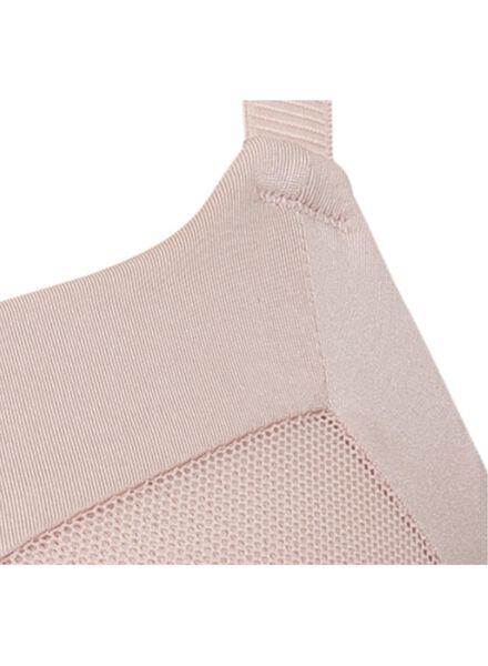 padded bh mesh roze roze - 1000011854 - HEMA