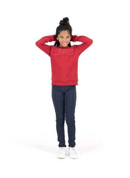 kindertregging donkerblauw donkerblauw - 1000013526 - HEMA