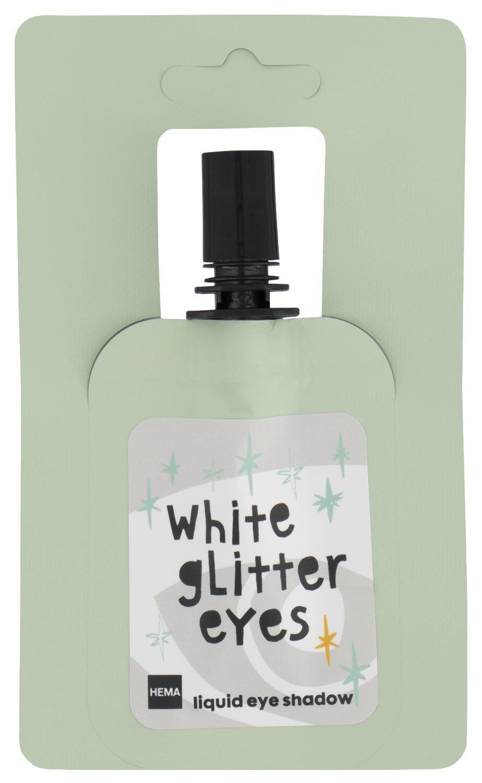 HEMA Vloeibare Oogschaduw White Glitter