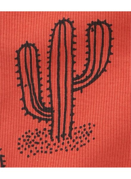 babyshirts mouwloos - 2 stuks rood rood - 1000013437 - HEMA