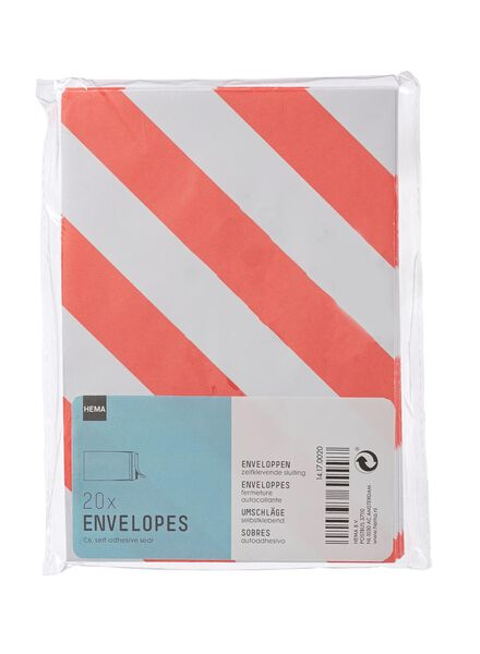 20-pak enveloppen - 14170020 - HEMA