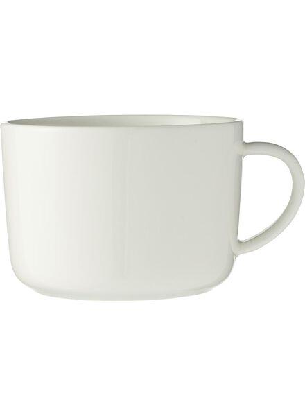 cappuccinomok - 330 ml - Chicago - wit - 9650515 - HEMA