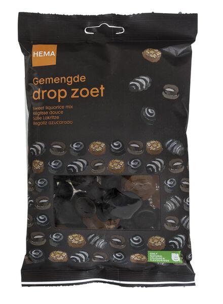 gemengde zoete drop - 10220063 - HEMA