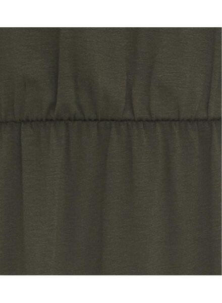 dames jurk olijf - 1000007736 - HEMA