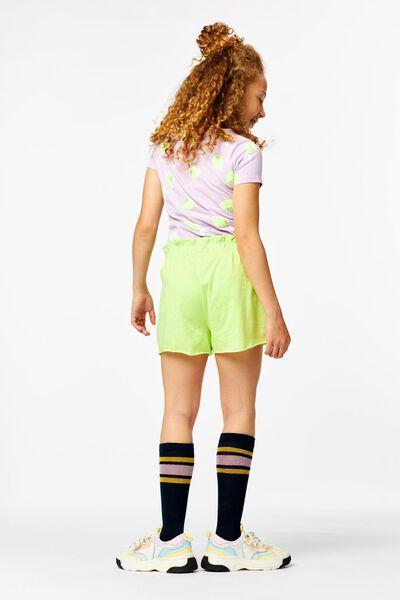 kinder t-shirt citroenen lila lila - 1000024062 - HEMA