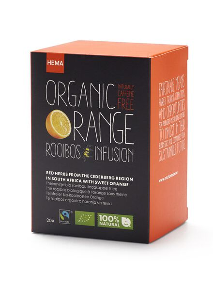thee rooibos orange - 17100081 - HEMA