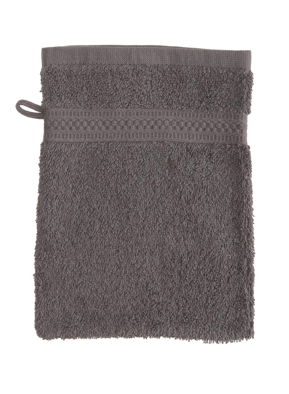 HEMA Washand - Zware Kwaliteit - Donkergrijs Uni (gris foncé)