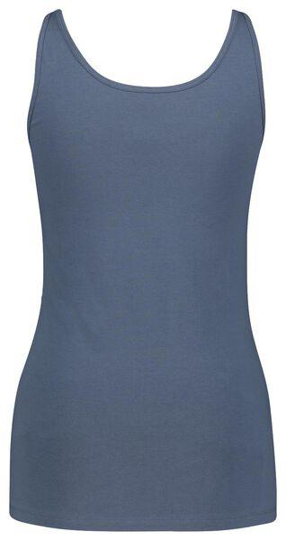 dames singlet blauw blauw - 1000022705 - HEMA