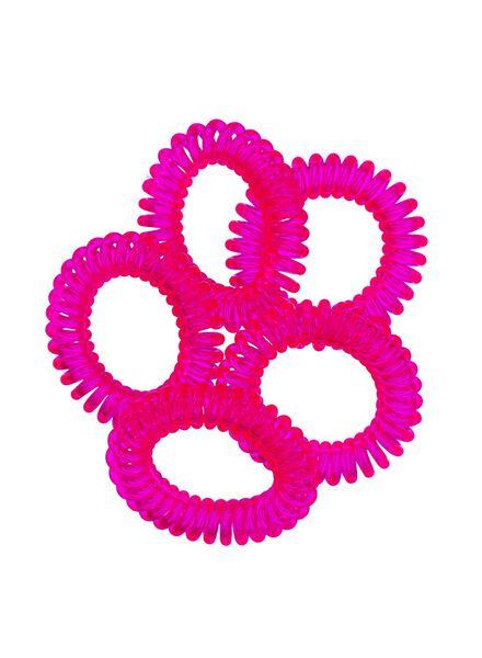 5-pak spiraal elastiekjes - 11873040 - HEMA