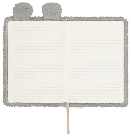 notitieboek A5 fluffy koala - 14150059 - HEMA