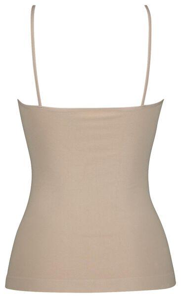 dameshemd light control met bamboe beige L - 21570103 - HEMA