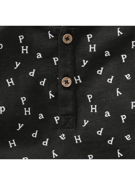 baby t-shirt zwart zwart - 1000004306 - HEMA