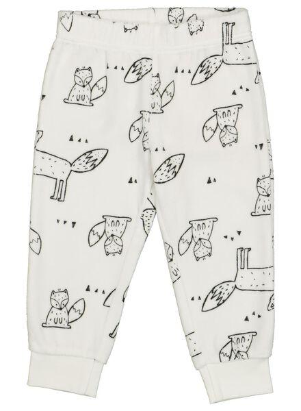 baby pyjama gebroken wit gebroken wit - 1000014716 - HEMA