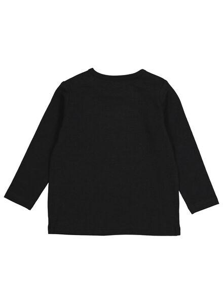 baby t-shirt met bamboe donkergrijs donkergrijs - 1000014267 - HEMA