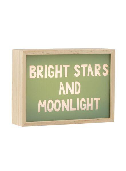lichtbox met quotes - 60120164 - HEMA