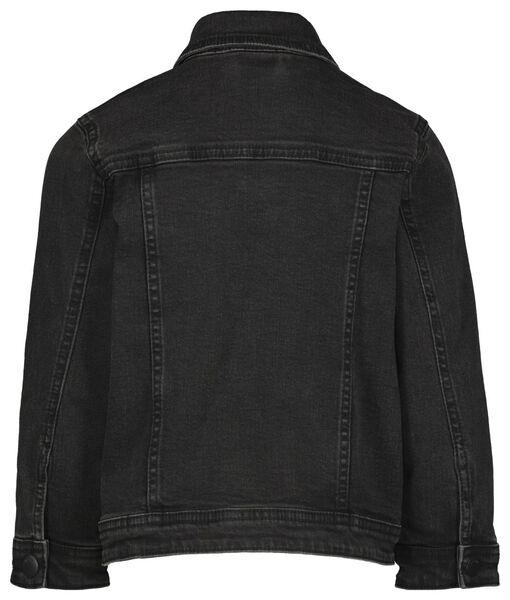kinder spijkerjas zwart zwart - 1000022336 - HEMA