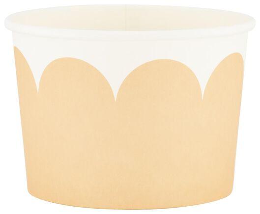 Papieren bakjes - 450 ml - high tea - 5 stuks - in Wegwerpservies