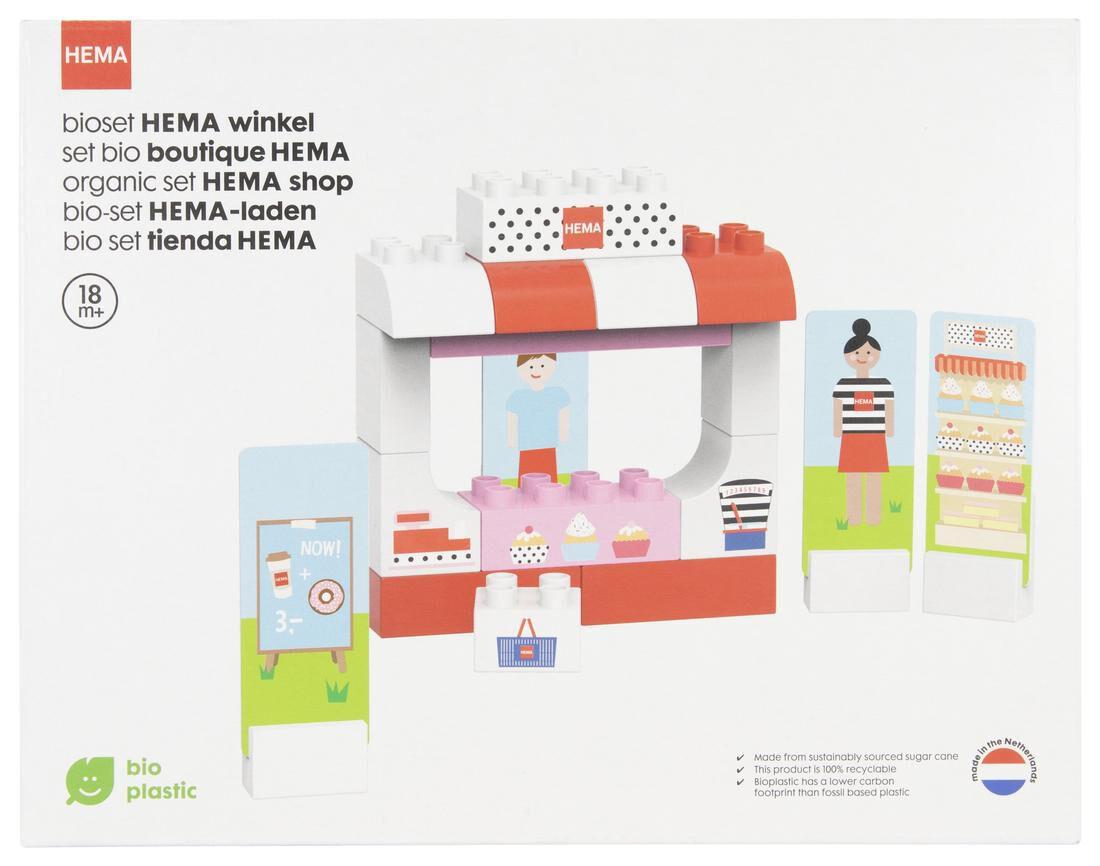 Image of HEMA Bio Bouwset HEMA Winkel