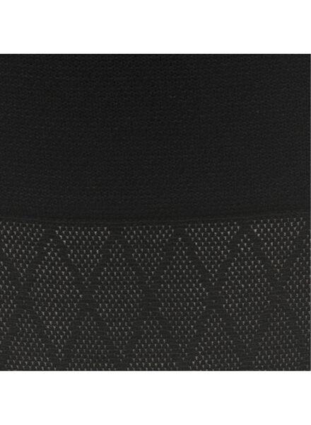 corrigerende damesslip zwart zwart - 1000008069 - HEMA
