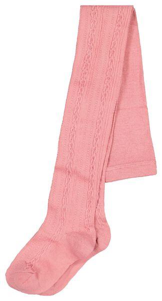 kindermaillot kabel roze 98/104 - 4320232 - HEMA