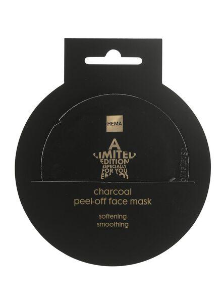 peel-off masker met houtskool - 17850035 - HEMA