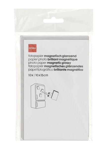 magnetisch glossy fotopapier - 38340080 - HEMA
