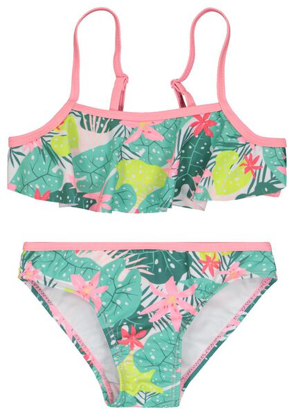 kinder bikini bloemen multi - 1000023115 - HEMA