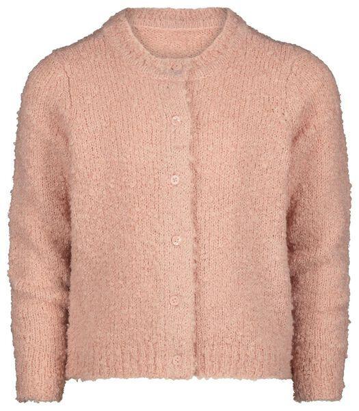 kindervest gebreid roze - 1000021100 - HEMA