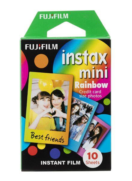10-pak Fujifilm Instax rainbow films - 60300394 - HEMA