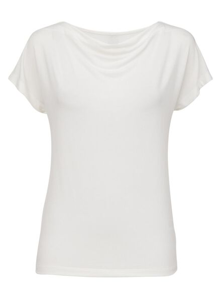 dames t-shirt wit wit - 1000008274 - HEMA
