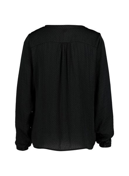 dames top zwart zwart - 1000014855 - HEMA
