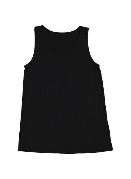 damessinglet zwart zwart - 1000013743 - HEMA