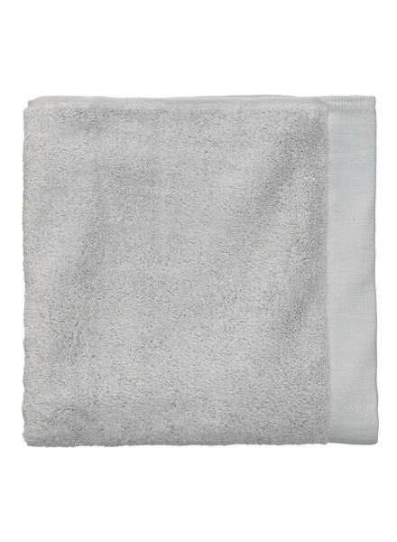 handdoek - 60 x 110 - hotel extra zacht - lichtgrijs - 5217008 - HEMA