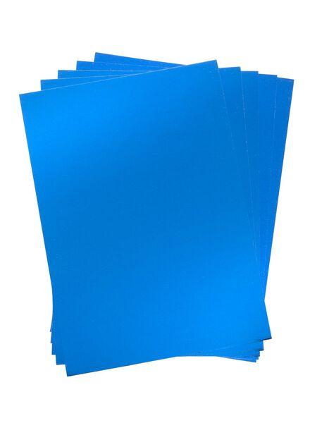 5-pak metallicpapier A4 - 15940103 - HEMA