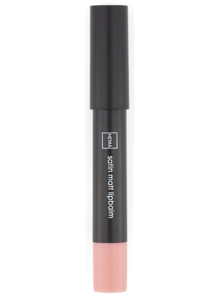 satin matt lipbalm 11 licht roze - 11230311 - HEMA