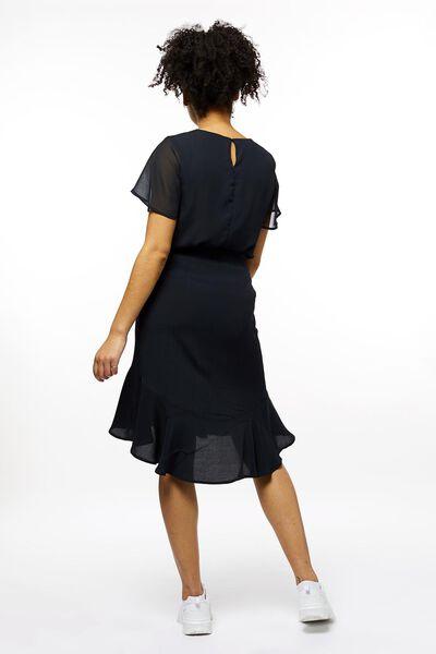 damesrok zwart M - 36278107 - HEMA