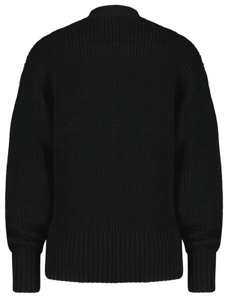 damesvest zwart M - 36368382 - HEMA