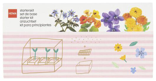 kweekset eetbare bloemen - 41810229 - HEMA