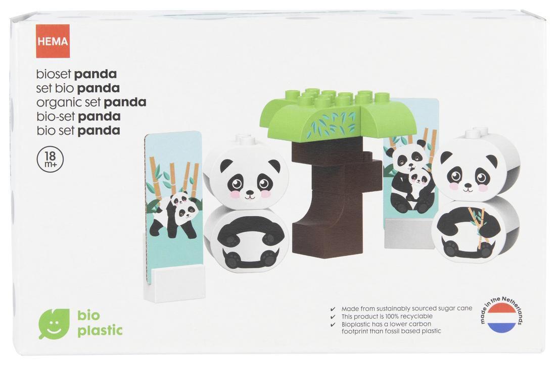 Image of HEMA Bio Bouwset Panda