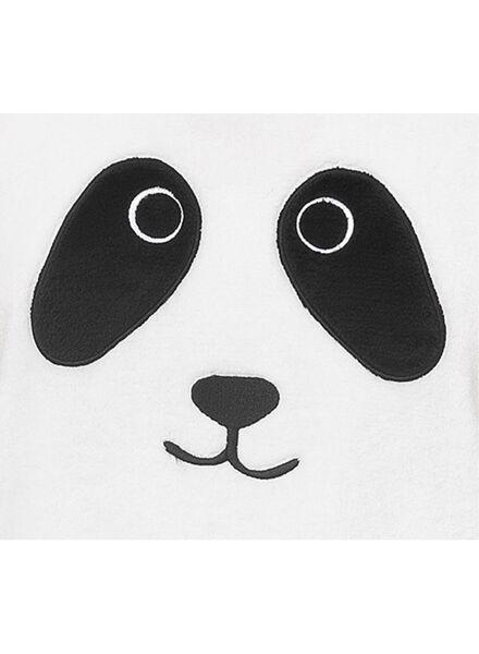 damespyjama zwart/wit zwart/wit - 1000011554 - HEMA