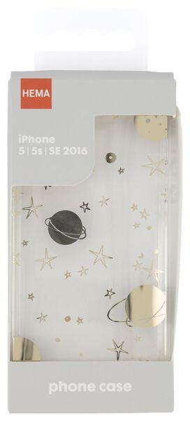 softcase iPhone 5/5s/SE2016 galaxy - 39680101 - HEMA