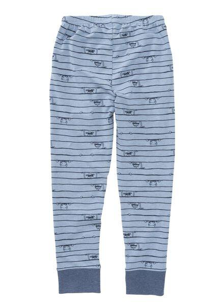 kinder pyjama blauw blauw - 1000002745 - HEMA