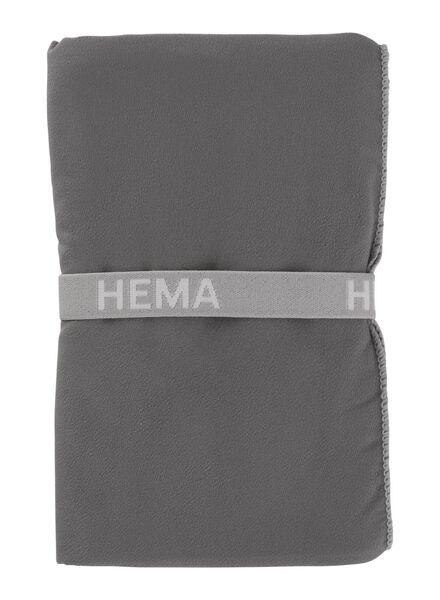 microvezel handdoek 70 x 140 cm - 5200098 - HEMA