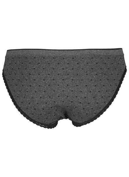 damesslip naadloos grijsmelange grijsmelange - 1000015287 - HEMA