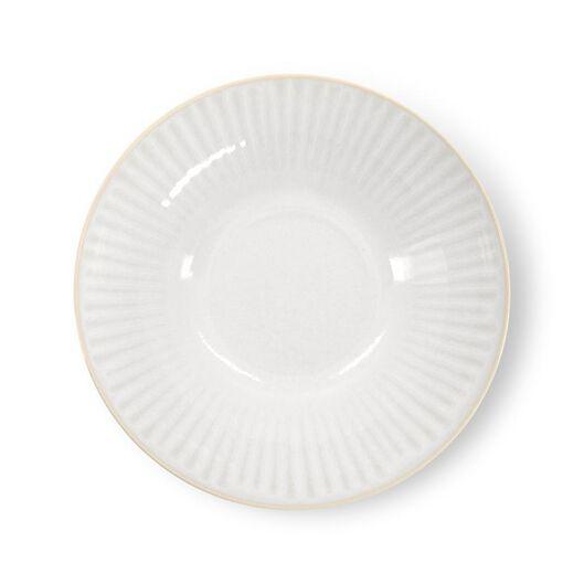 schaal - Ø24 cm - France - reactief glazuur - wit - 9602274 - HEMA