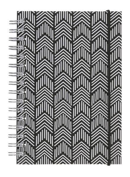 notitieboek A6 gelinieerd - 14161246 - HEMA