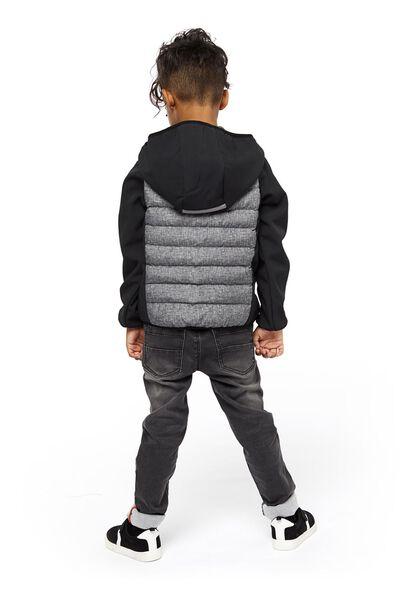 kinderjack zwart zwart - 1000020212 - HEMA