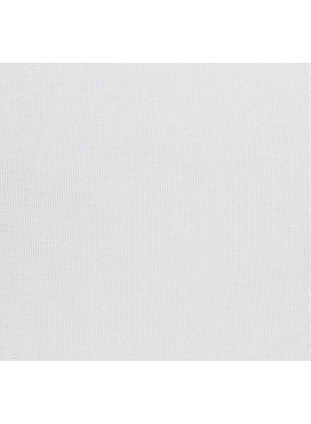 damessinglet biologisch katoen wit wit - 1000004702 - HEMA