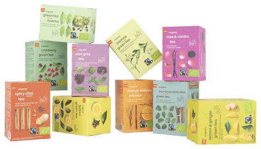 thee bio citroen groene thee 20 stuks - 17190007 - HEMA